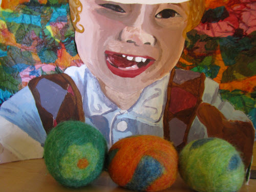 Wool dryer balls_Collage RowanByMaddie